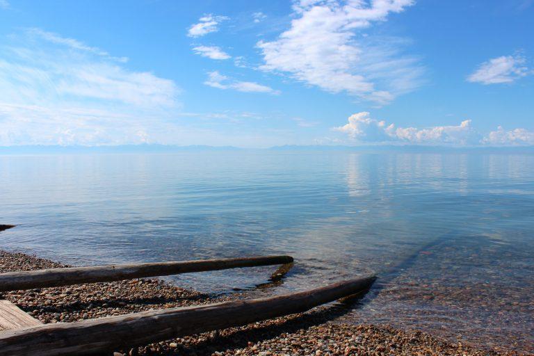 Lago Baikal, parada del Transiberiano