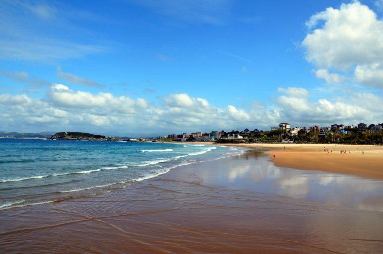 Qué ver y hacer en Santander en la playa del Sardinero