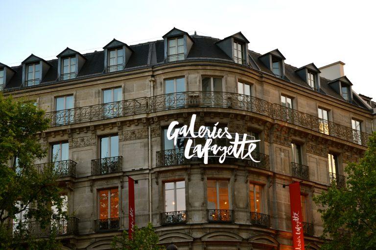Galerías Lafayette en París