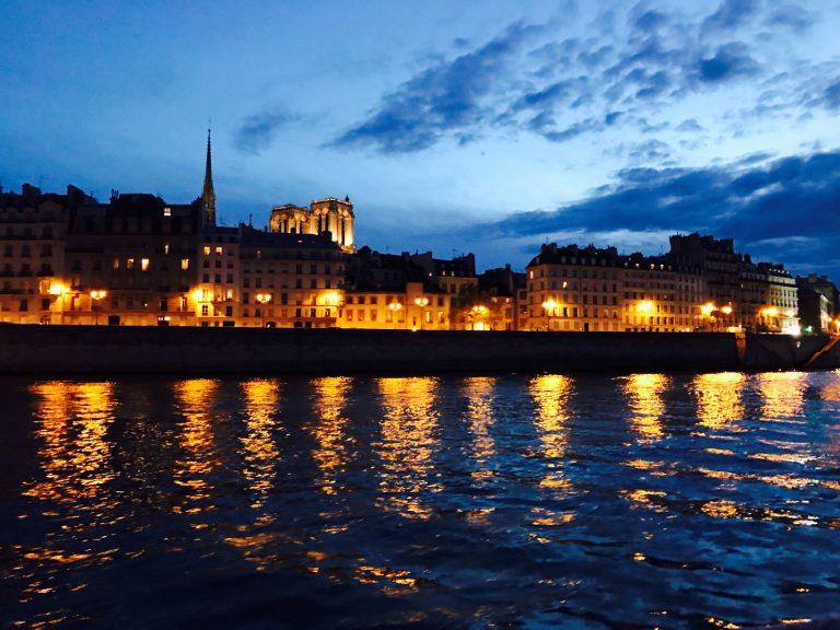 Río Sena de París