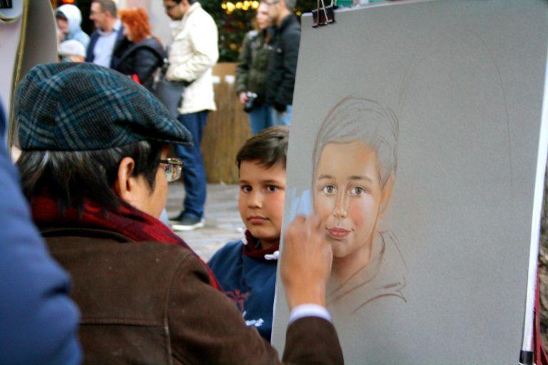Qué ver y hacer en París, pintores en Montmatre