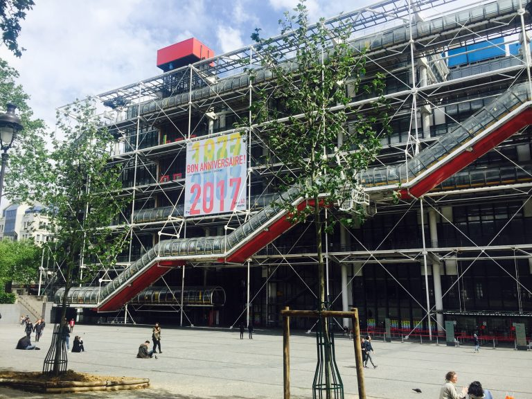 Pompidou, París