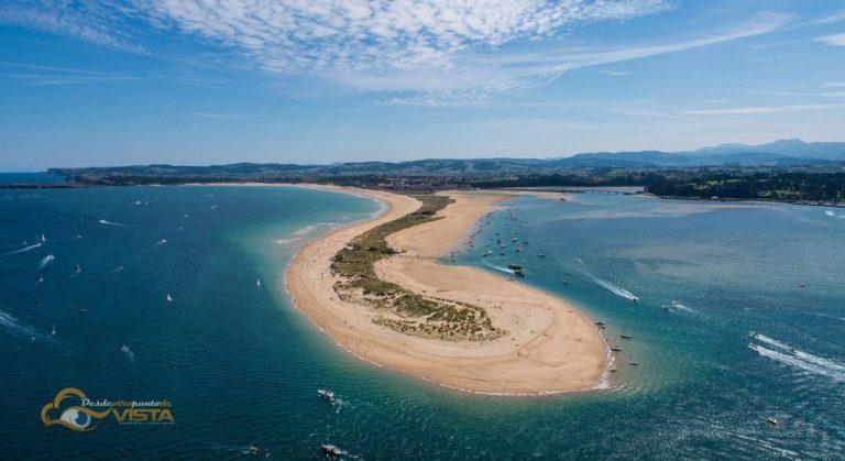 Playa del Puntal para ir con Perros en Cantabria