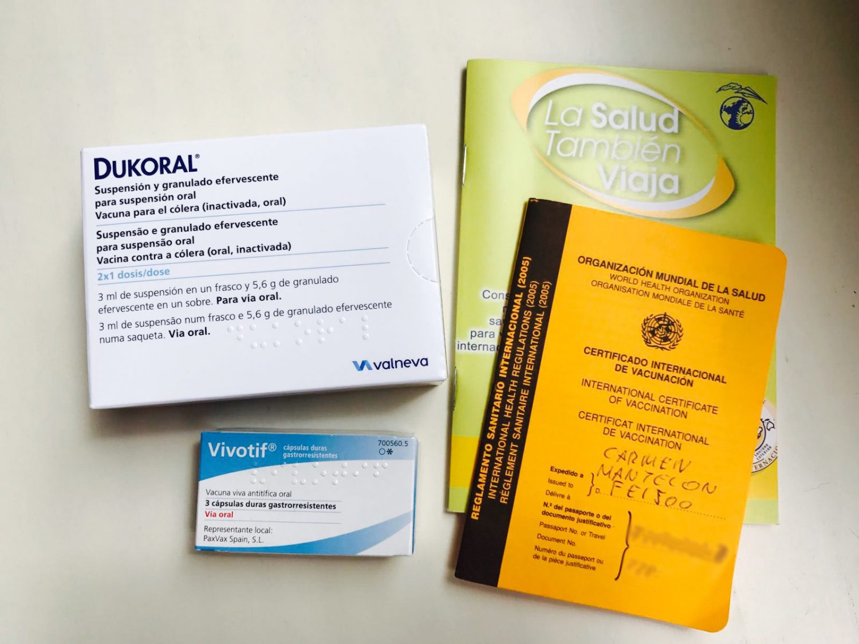 vacuna para fiebre tifoidea nombre comercial