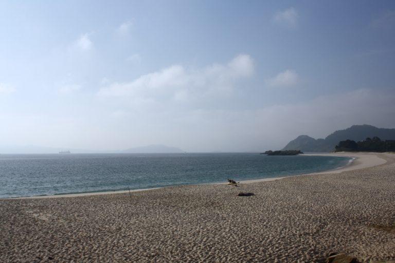 Playa de Rodas en las Islas Cíes