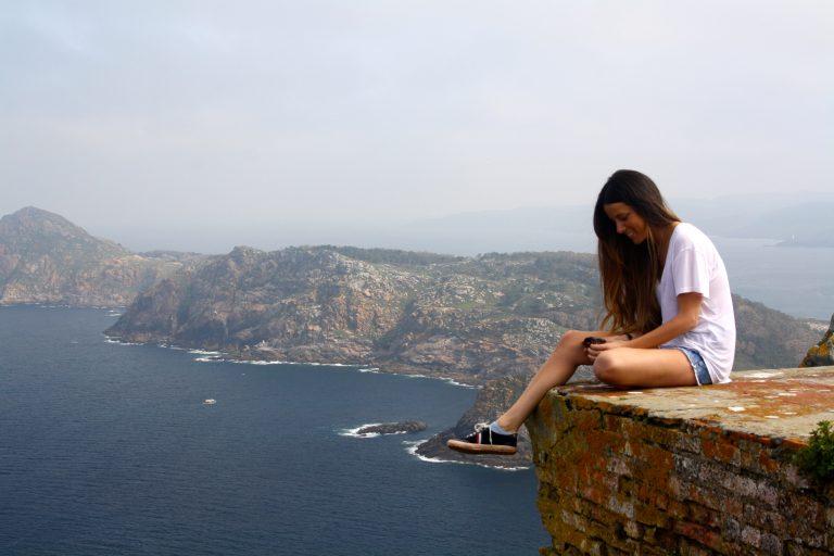 Vistas desde el Faro de las Islas Cíes