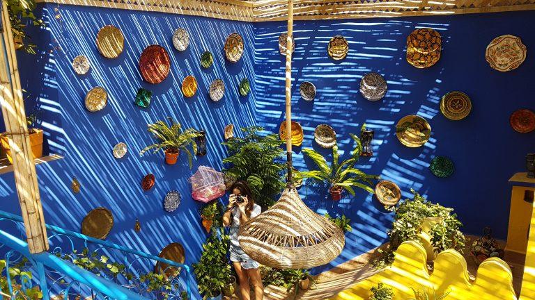 Descubre qué ver y hacer en la medina de Tánger, plantas de la terraza