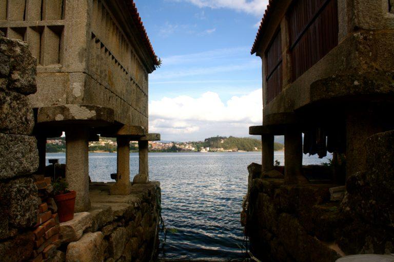 Horreos que ver en Combarro, Galicia