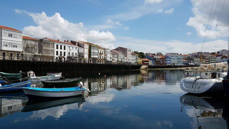Ría de Mugardos en Galicia