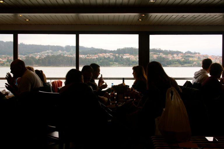 Bodega O`Bocoi donde comer en Combarro, Galicia