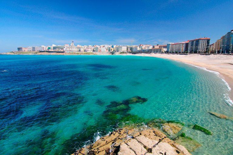 Playa Riazor Coruña