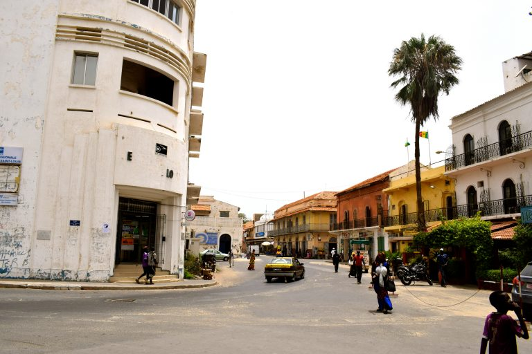 Saint Louis, en Senegal