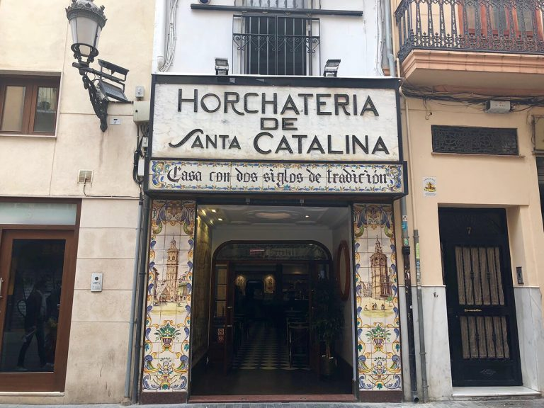 Horchatería Santa Catalina, qué ver y qué hacer en Valencia