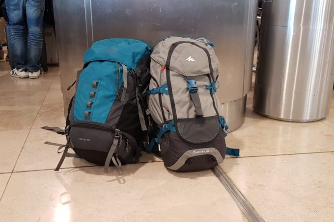 Mochilas seguro de viaje