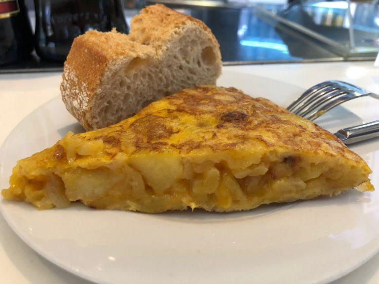 Tortilla de patata de Zissou en Santander