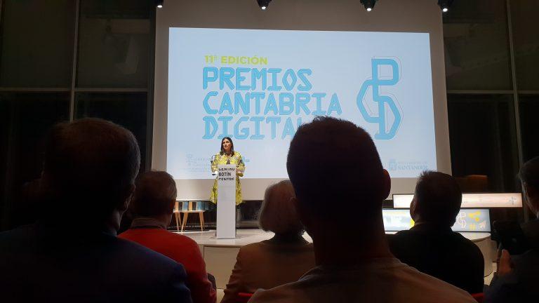 Gema Igual Premios Cantabria Digital